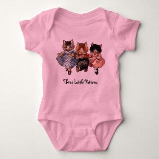 Three Little Kittens Baby Bodysuit