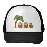 Three little monkeys - três macaquinhos cap