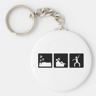 Three Little Pics - Men 4 Keychain