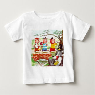Three Little Pigs Baby T-Shirt
