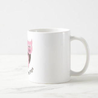 Three Little Pigs Basic White Mug