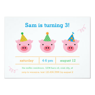 Three Little Pigs Card