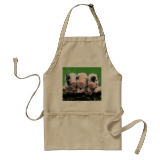 Three little pigs - cute pig - three pigs standard apron
