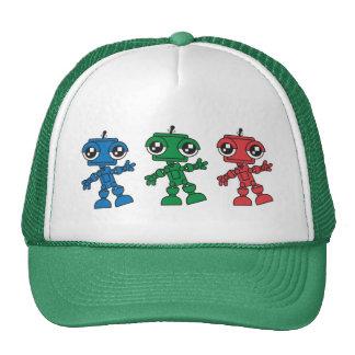 Three Little Robots Cap