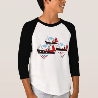 Three Little Ships T Shirt