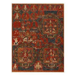 Three Mandalas Postcard