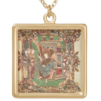 Three Maries at the Sepulchre, from the Benedictio Gold Plated Necklace