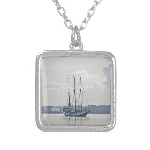 Three Masted Schooner Trinovante. Necklaces