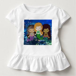 Three Mermaids Toddler Shirt