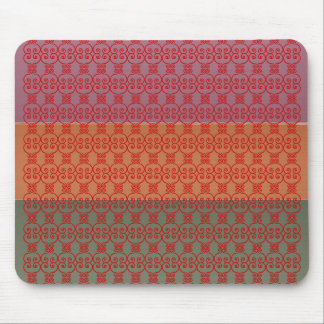 Three Metal Finish Color Stripe - TTT Pattern Mouse Pad