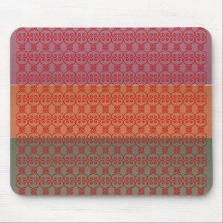 Three Metal Finish Color Stripe - TTT Pattern Mouse Pad