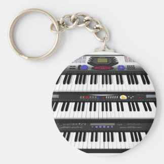 Three Modern Keyboards: Synthesizers: Key Ring
