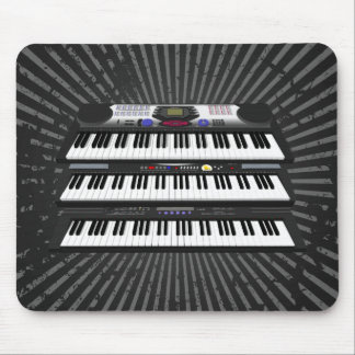 Three Modern Keyboards: Synthesizers: Mousepad