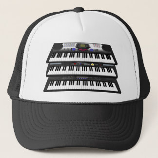 Three Modern Keyboards: Synthesizers: Trucker Hat