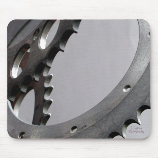 Three Motorcycle Gears Mouse Pads