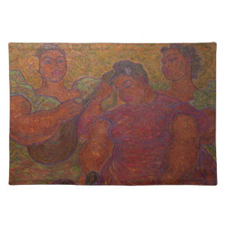 "Three Musicians 14"" x 20"" Placemat"
