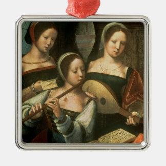 Three Musicians Christmas Ornament