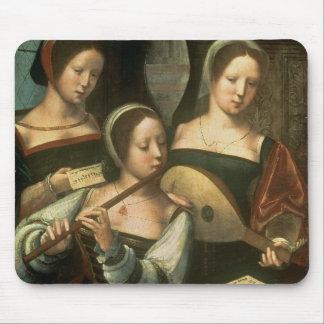 Three Musicians Mouse Mat
