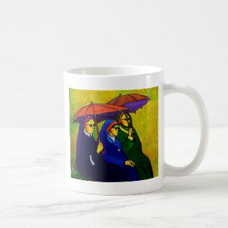 Three Nuns by piliero Coffee Mugs