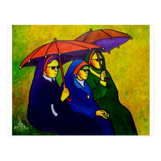 Three Nuns by piliero Post Card