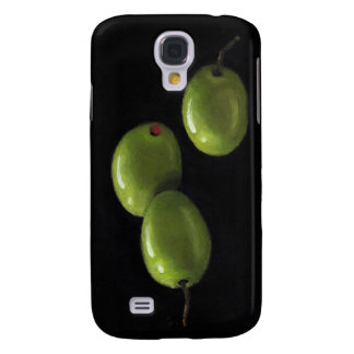 Three Olives in Oil Pastel Galaxy S4 Cases