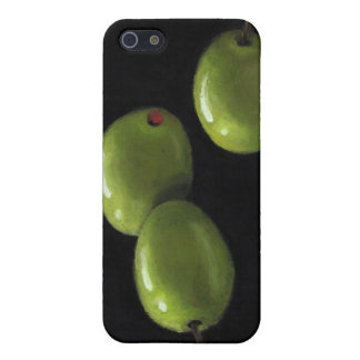 Three Olives in Oil Pastel Case For iPhone 5
