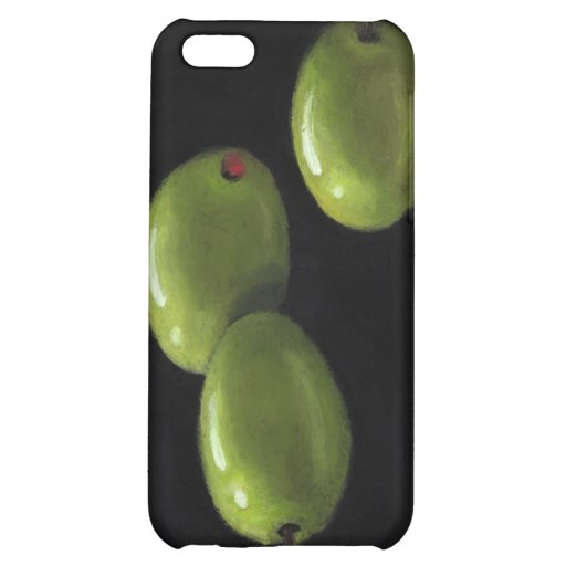 Three Olives in Oil Pastel Cover For iPhone 5C