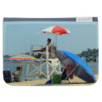 Three on the Beach Kindle Folio Case