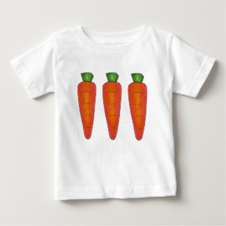 Three Orange Chocolate Carrots Spring Easter Tee