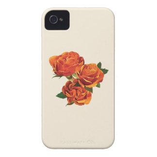 Three Orange Roses iPhone 4 Case-Mate Case