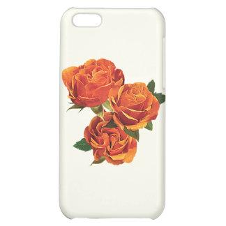 Three Orange Roses iPhone 5C Case
