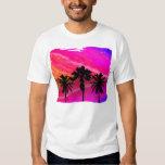 Three Palm Sunset T Shirts