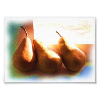 Three Pears Photograph