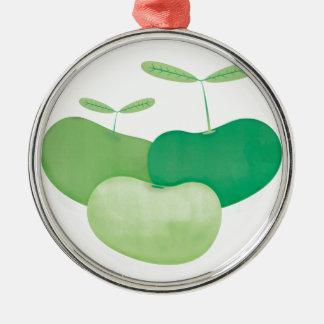 Three peas from a pod christmas ornament