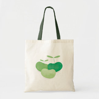 Three peas from a pod tote bag