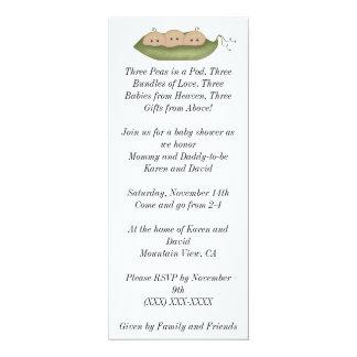 Three Peas in a Pod Card