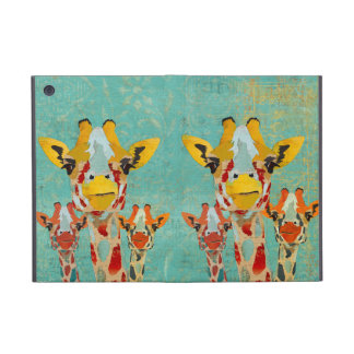 Three Peeking Giraffes iPad Case