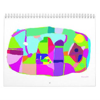 Three People Calendar