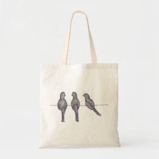 Three Pigeon Pals Bad Tote Bag