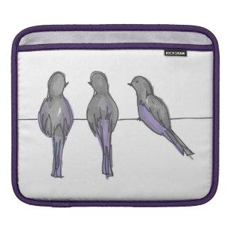Three Pigeon Pals iPad Cover