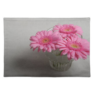 Three Pink Gerberas Placemat