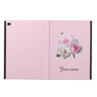 Three pink roses. Add your text. Powis iPad Air 2 Case