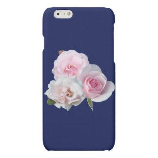 Three pink roses. iPhone 6 plus case