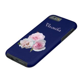 Three pink roses. tough iPhone 6 case