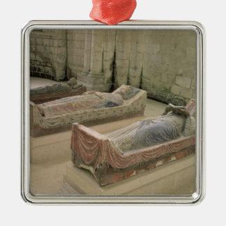 Three Plantagenet Tombs Christmas Ornament