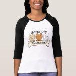 Three Pomeranians Tshirt
