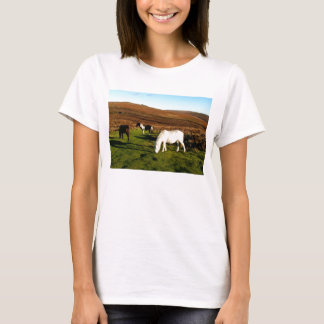 Three ponies on Dartmoor T-Shirt