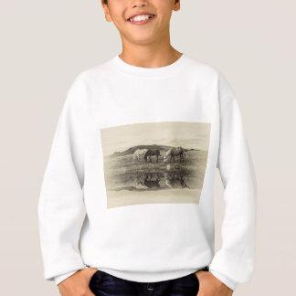 Three pony`s sweatshirt