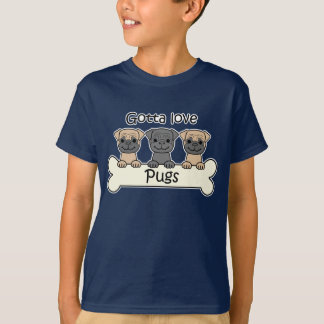 Three Pugs T-Shirt
