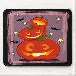 three pumpkins mousepad